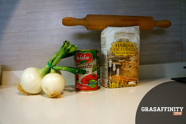 Receta de pizza casera italiana: ingredientes