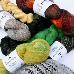 Middle Earth inspired yarn and fiber (click for prices)