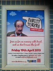 Fawlty Towers night at the Harbour Hotel in Poole Dorset