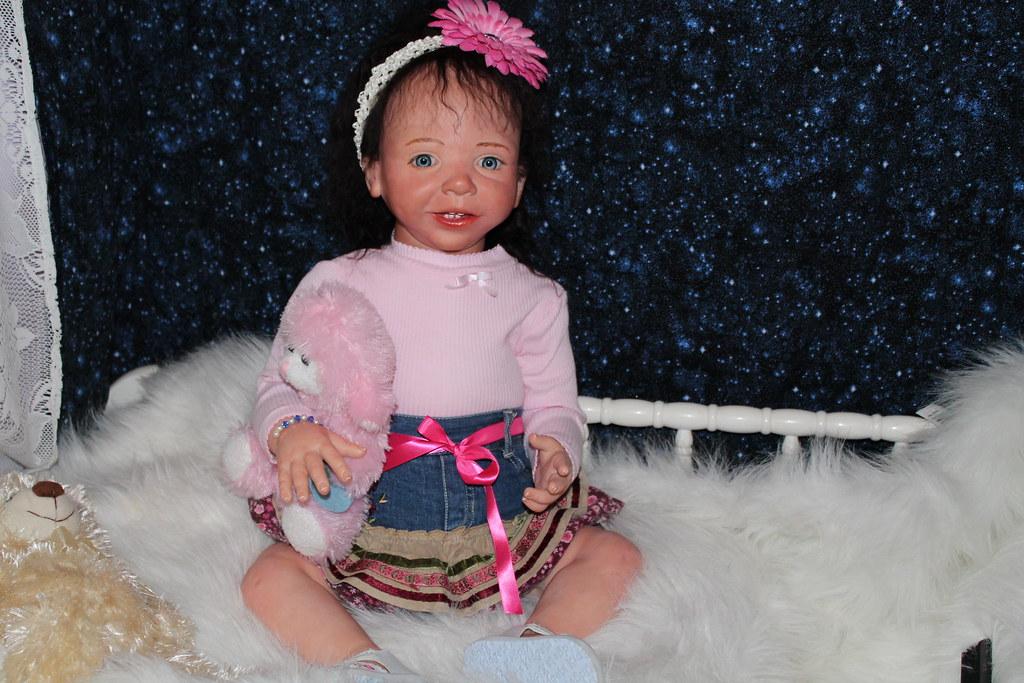 Sweet Pea Babies Nursery Reborn Toddler Doll Beautiful Belinda by D Zweers