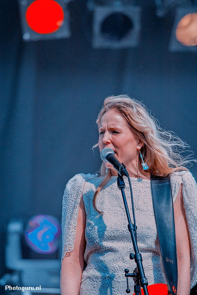 Bevrijdingsdag 2013 zangeres