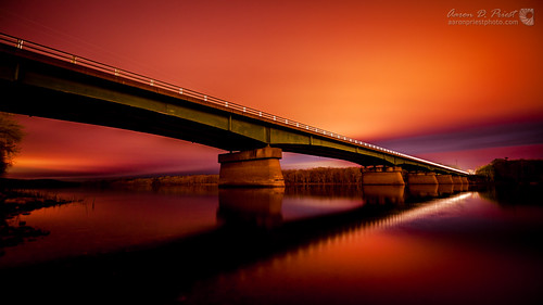 Bridge over Penobscot River por AaronPriestPhoto