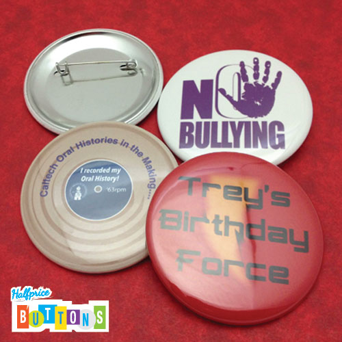 no-bullying-button by Sign Factory / Half Price Buttons