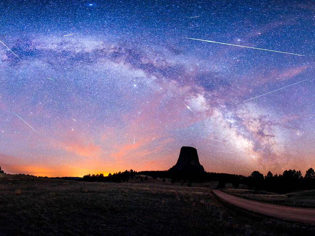 3 nights of the Eta Aquarids Meteor Shower
