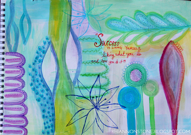 Art Journal Page #33