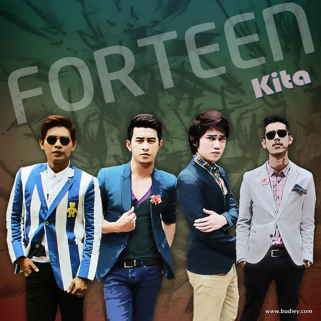 Forteen cover album KITA
