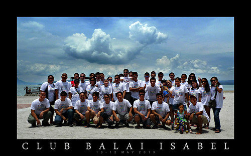 Company outing at Club Balai Isabel