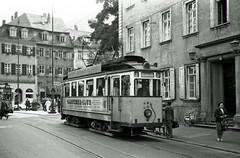 Trams in various German cities