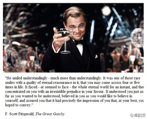 Great Gatsby:  The Smile