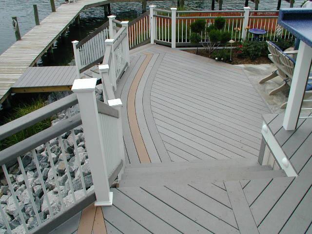 t rex deck with trellis trex decks metro wood works inc