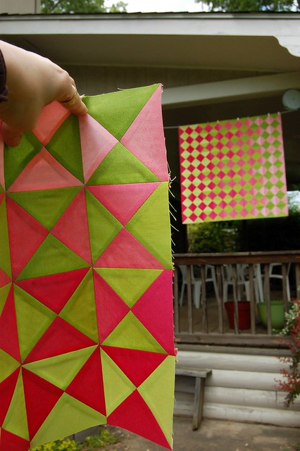 Ansley's Quilt Top and Skylar's Doll Quilt Top