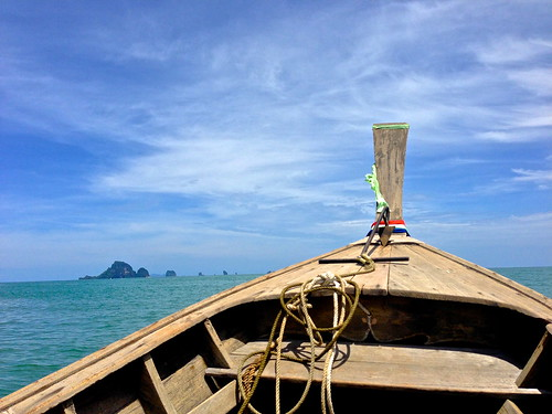 Long Tail Boating in Krabi, Thailand