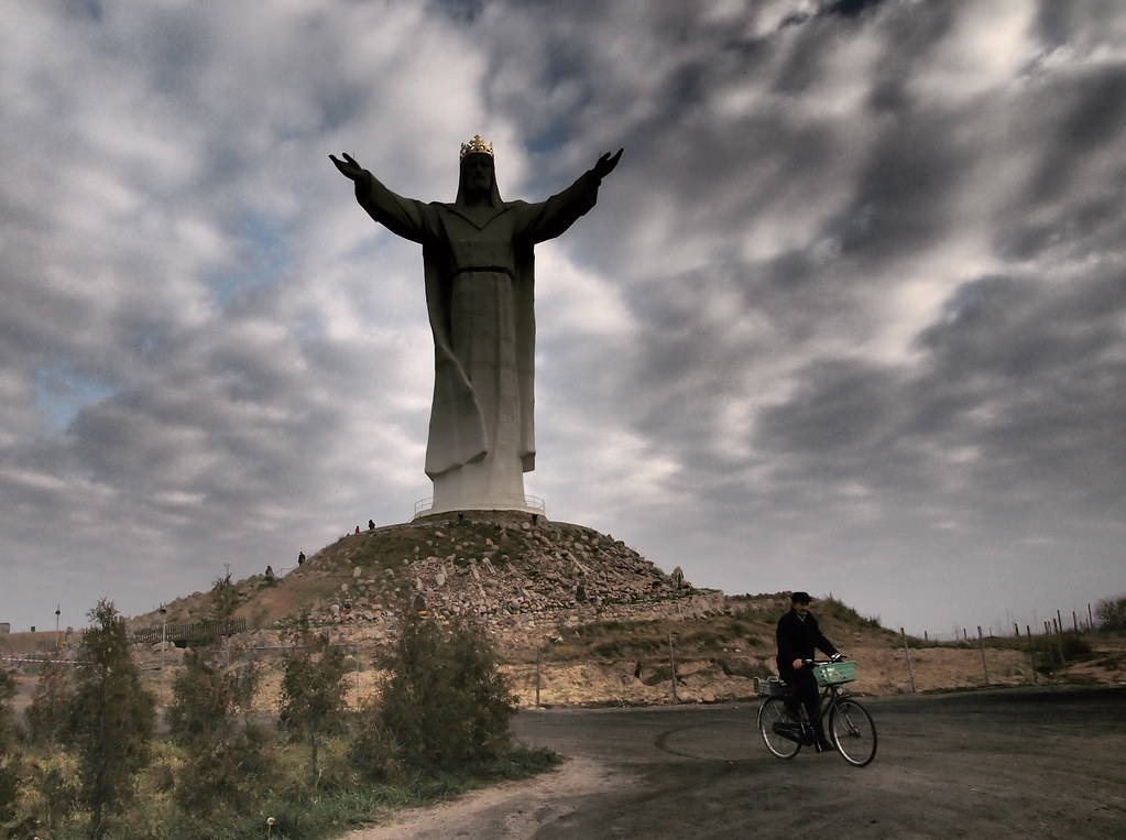 Jesus Statue, Swiebodzin Poland