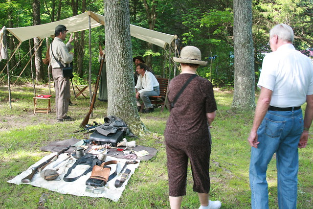 There will be exhibits of various aspects of Civil War camp life.