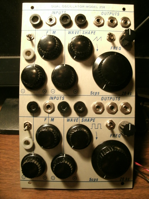 Buchla 258 J3RK clone build