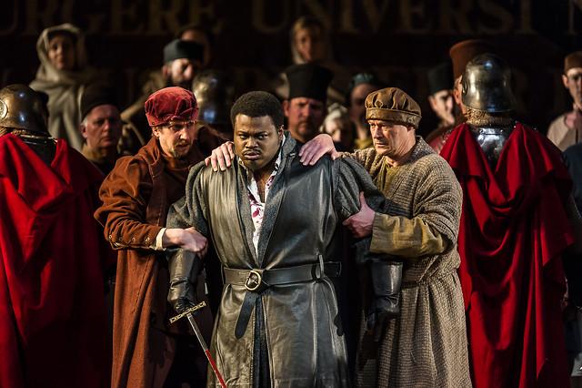 Russell Thomas as Gabriele Adorno in Simon Boccanegra © ROH / Clive Barda 2013