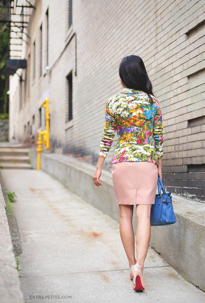 anthropologie petite floral jacket  2