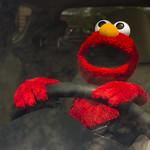 elmo at the wheel 2