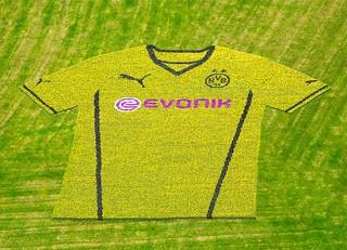 Borussia Dortmund (BVB): Das neue Trikot von Puma (2013-2014)
