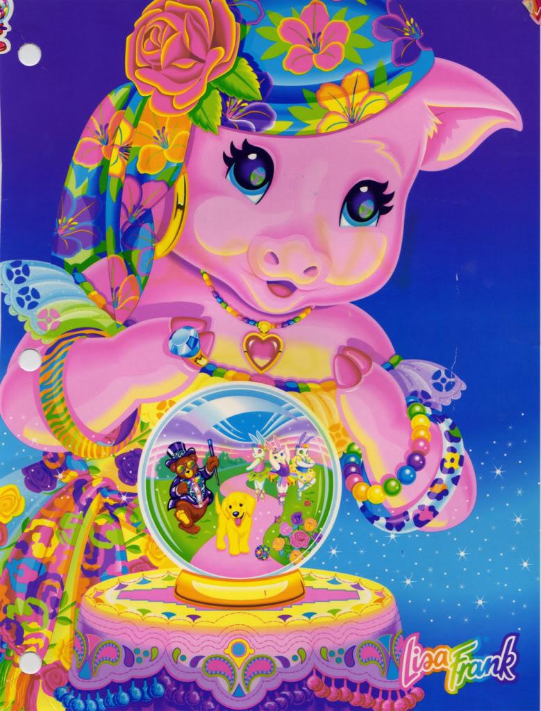 pig crystal ball