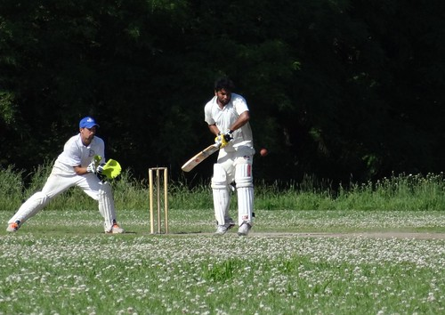 DSC09460 Havelländischer Cricket Club Werder v Berliner Cricket Club 2nd XI