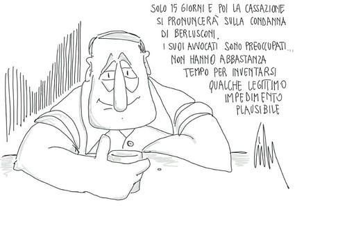 Processo Mediaset by Livio Bonino