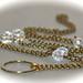 Eyeglass Chain in Antique Gold