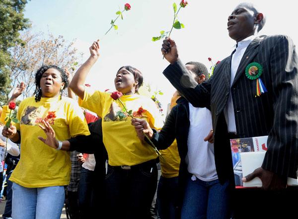 (11)SUDAFRICA-PRETORIA-POLITICA-MANDELA