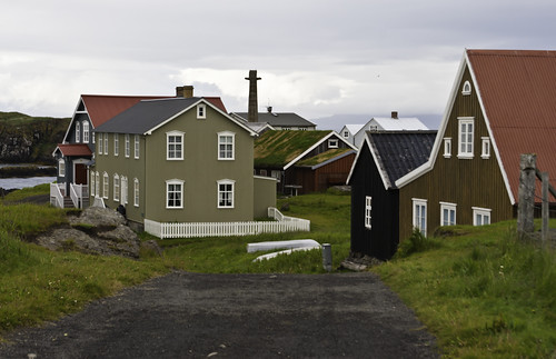 houses clouds iceland ísland hús ský geh flatey gunnareiríkur