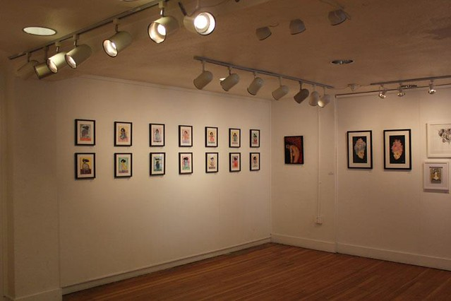Daydreamer show. Installation view.