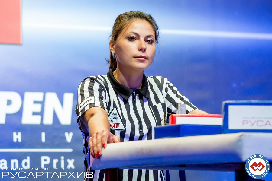 Venera Urazgildeeva - Master Referee │ A1 RUSSIAN OPEN 2013, Photo Source: armsport-rus.ru