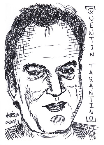 (30) Quentin Tarantino, film director by americoneves