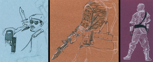 Dr Sketchy's : GI Joe & Transformer