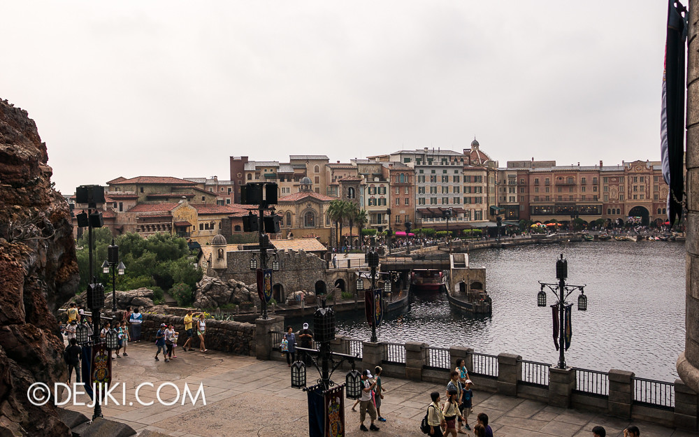 Tokyo DisneySea - Mediterranean Harbor / Fortress Explorations / View of Porto Paradiso