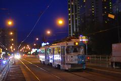 Moscow tram Tatra MTTA-2