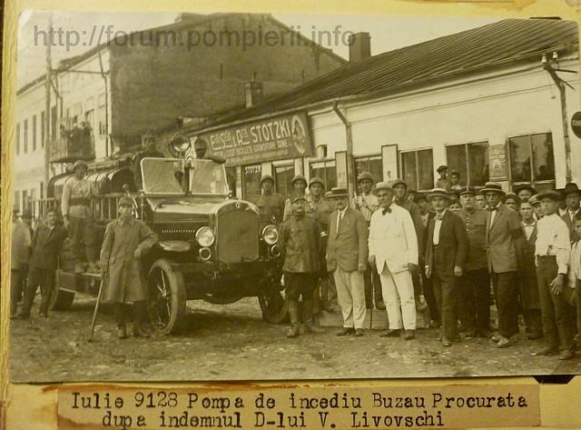 Autospeciala Magirus / Buzau 1928