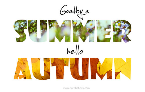 Goodbye summer hello autumn by LikClick Photography