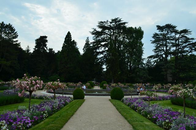 Chateau de Chenonceau garden
