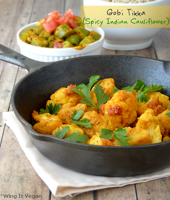 Gobi Tikka (Spicy Indian Cauliflower)