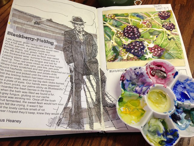 Blackberry Picking - Seamus Heaney R.I.P.