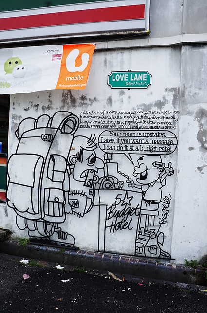 Murals and Street / Wall Arts in Penang
