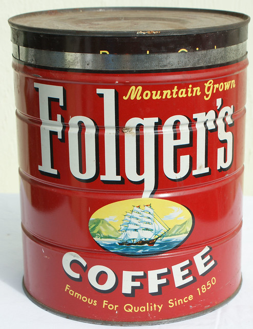 Dsc03309 Folgers Coffee Tin Flickr Photo Sharing