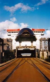 M/F Öresund i Frihavnen September 1999