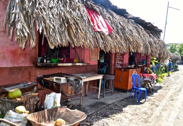Dining of Monterrico, Guatemala