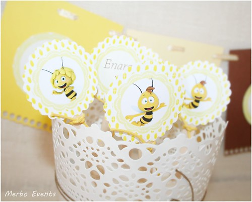 Toppers Kit de Fiesta Abeja Maya Merbo Events