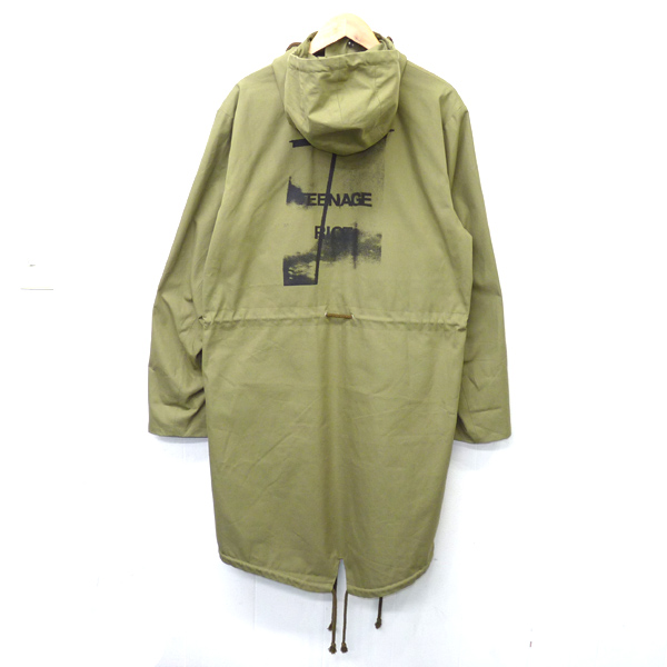 RAF SIMONS 10TH ANNIVERSARY - LIMITED EDITION BACK PRINT PARKA