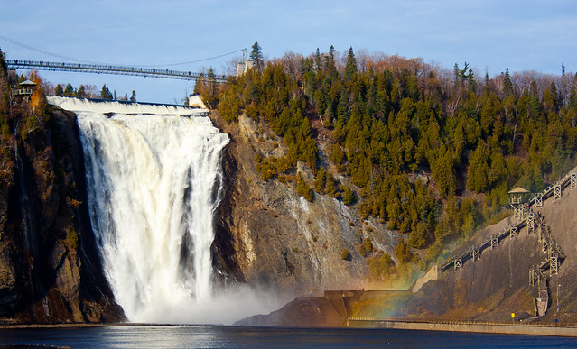 Montmorency Falls by CC user pavdw on Flickr