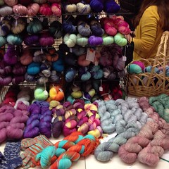 @toiltrouble trunk show at Black Sheep Knitting in Needham, MA! Part of the Greater Boston Yarn Crawl