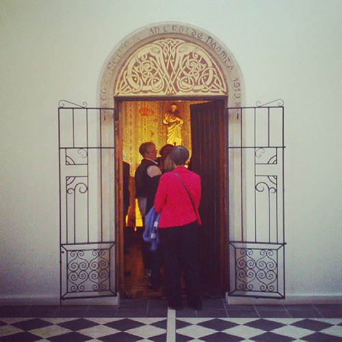 Entering the Oratory of the Sacred Heart (c. 1919) in Dun Laoghaire at #OpenHouseDublin #dunlaoghaire