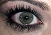 crazy green eyed girl